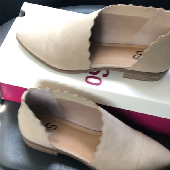 SO Shoes - So slip on shoes NWT